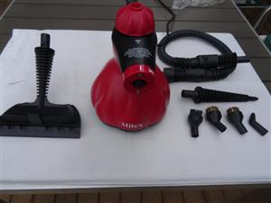 Steam butler for effective steam cleaning. Removing bacteria, dirt and grime from almost any surface