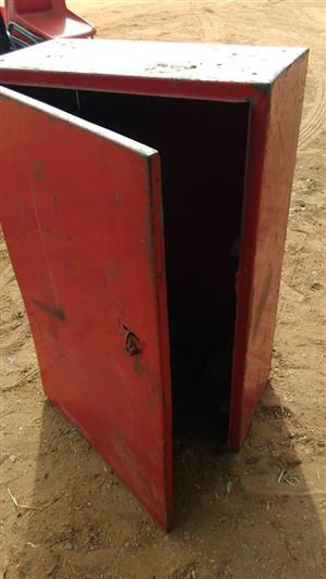 Red tool case