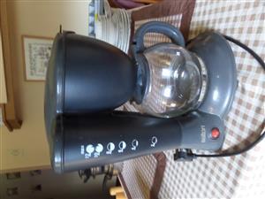SALTON GREY FILTER COFFEE MACHINE