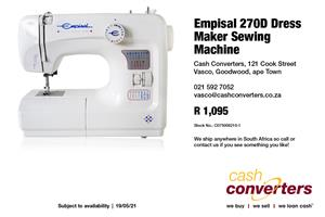 Empisal 270D Dress Maker Sewing Machine
