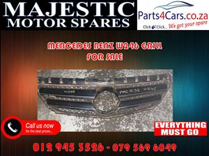 Mercedes benz w246 grill for sale used spares