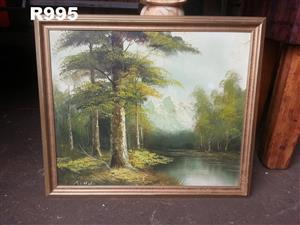 Original A.Hei Painting (650x550)