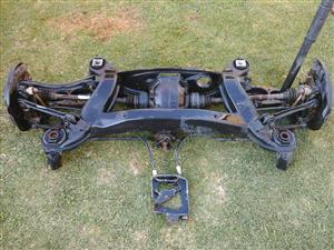 Rear subframe for Mercedes-Benz c-class W203