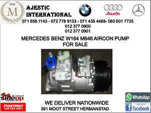 Mercedes benz W164 M646 aircon pump for sale