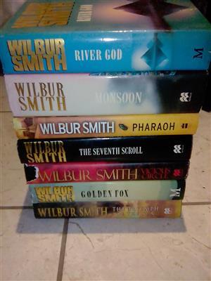 Wilbur Smith book collection for sale