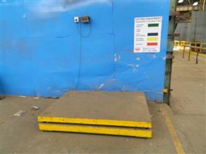 Shekel Merav 2000 / SA1357 3Ton Platform Scale - ON AUCTION