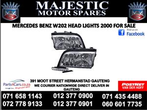 Mercedes W202 head lights for sale