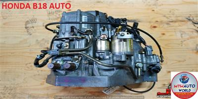 IMPORTED USED HONDA B18 AUTOMATIC GEARBOX FOR SALE AT MYM AUTOWORLD