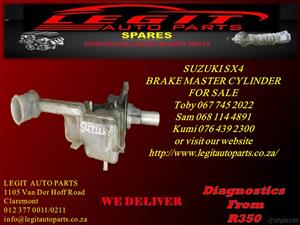 SUZUKI SX4 BRAKE MASTER CYLINDER  FOR SALE