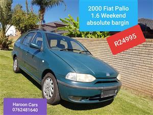 2000 Fiat Palio 1.6 ELX 5 door