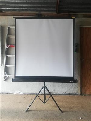 White drawing board with stand