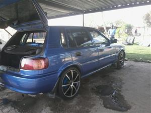 2002 Toyota Tazz 130