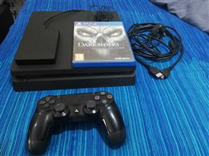 Playstation 4 Slim 500GB with 1 game + 1TB External Drive