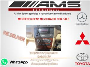 MERCEDES BENZ ML 500 RADIO FOR SALE