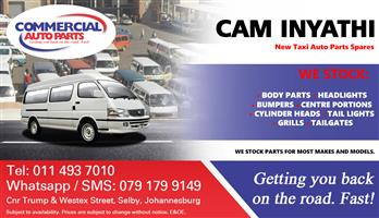 Cam Inyathi Parts and Spares For Sale.