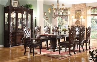 Antique Gothic Dining Room Suites