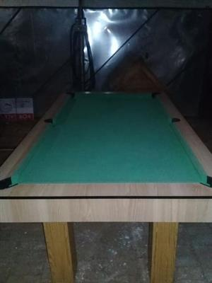 Pooltable with accessories for sale