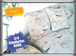 3/4 Paris comforter for sale