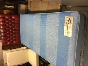 Sealy Single Bed Base with Mattress