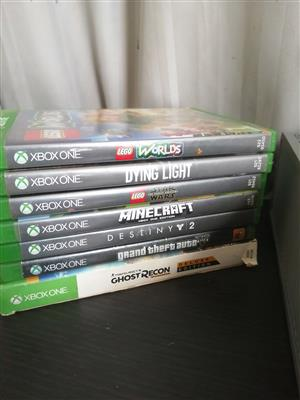 X-box One with games
