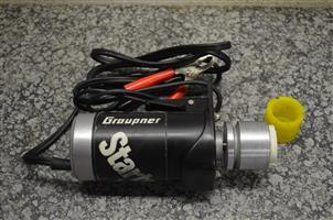 Graupner 12 volt starter