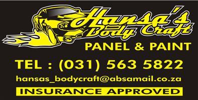 Hansas bodycraft panel beating and spray painting