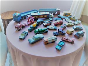 Collection of model toy cars May be purchased individually.
