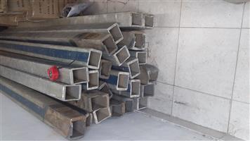 Aluminum uprights