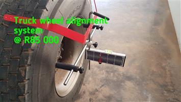 Truck Wheel alignment system