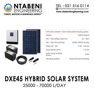Ntabeni engineering DXE45 Hybrid Solar System