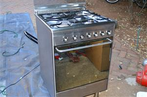 SMEG 60 cm Gas oven and Stove - with rotisserie