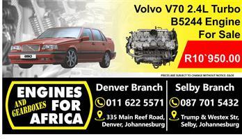 Volvo V70 2.4L B5244T Engine For Sale