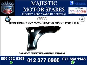 Mercedes benz w204 steel fender for sale