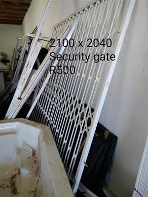 White security gate for sale