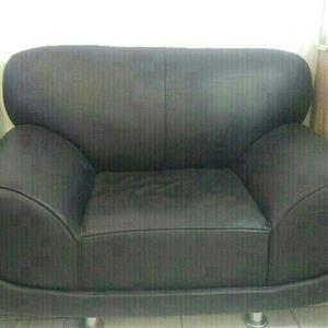 3 set couch with 2 ottomans