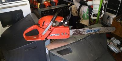 Dolmar chain saw Industrial 2 pieces available