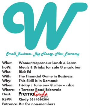 Monthly Womantrepreneur Meeting