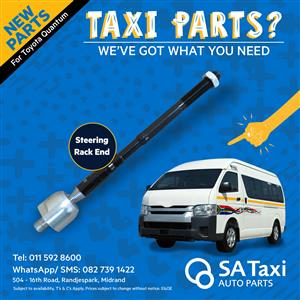 NEW Steering Rack End suitable for Toyota Quantum - SA Taxi Auto Parts quality spares