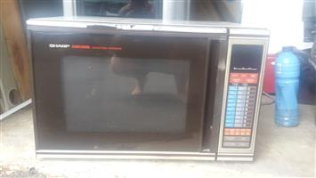 Sharp convection microwave oven