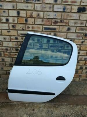 Peugeot 206 Left Rear Door  Contact for Price