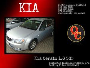 2005 Kia Cerato 1.6 EX 5 door