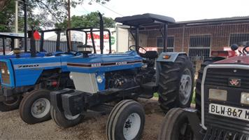 Ford 6610 61kW/80Hp 2x4 Pre-Owned Tractor