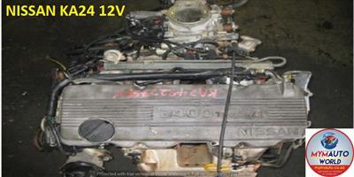 NISSAN NAVARA/HARDBODY 12V SOHC KA24 ENGINE FOR SALE