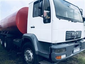 MAN Water tanker 16,000 liters for sale