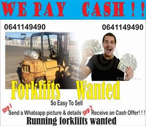 Forklifts Wanted 2