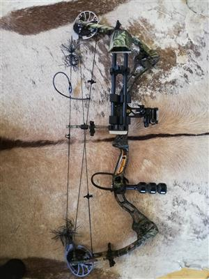Bowtech Allegiance Compound Bow with included kit for sale