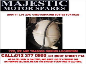 Audi TT 2.0T used radiator bottle for sale