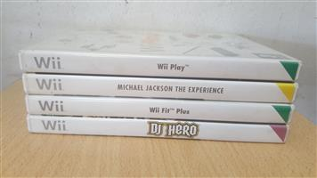 Nintendo Wii games  Please see titles on photos .  All still in Prestine condition