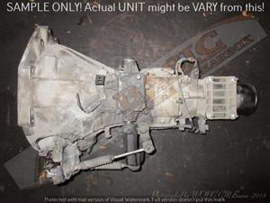 KIA J3 -2.9 2X4 MANUAL RWD Gearbox -CARNIVAL