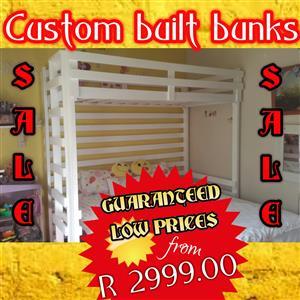 Various types of bunk beds